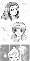 moe trio by UmiHoshi