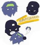 Sanada + Yukimura fluffies