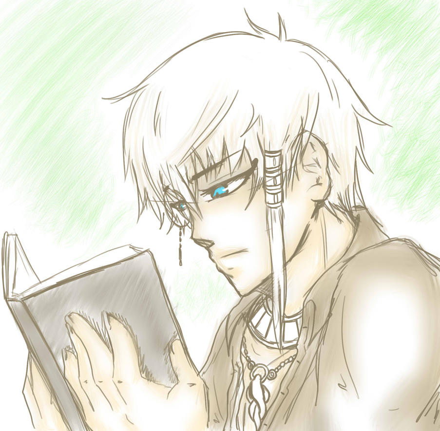 Thoth scetch by UmiHoshi