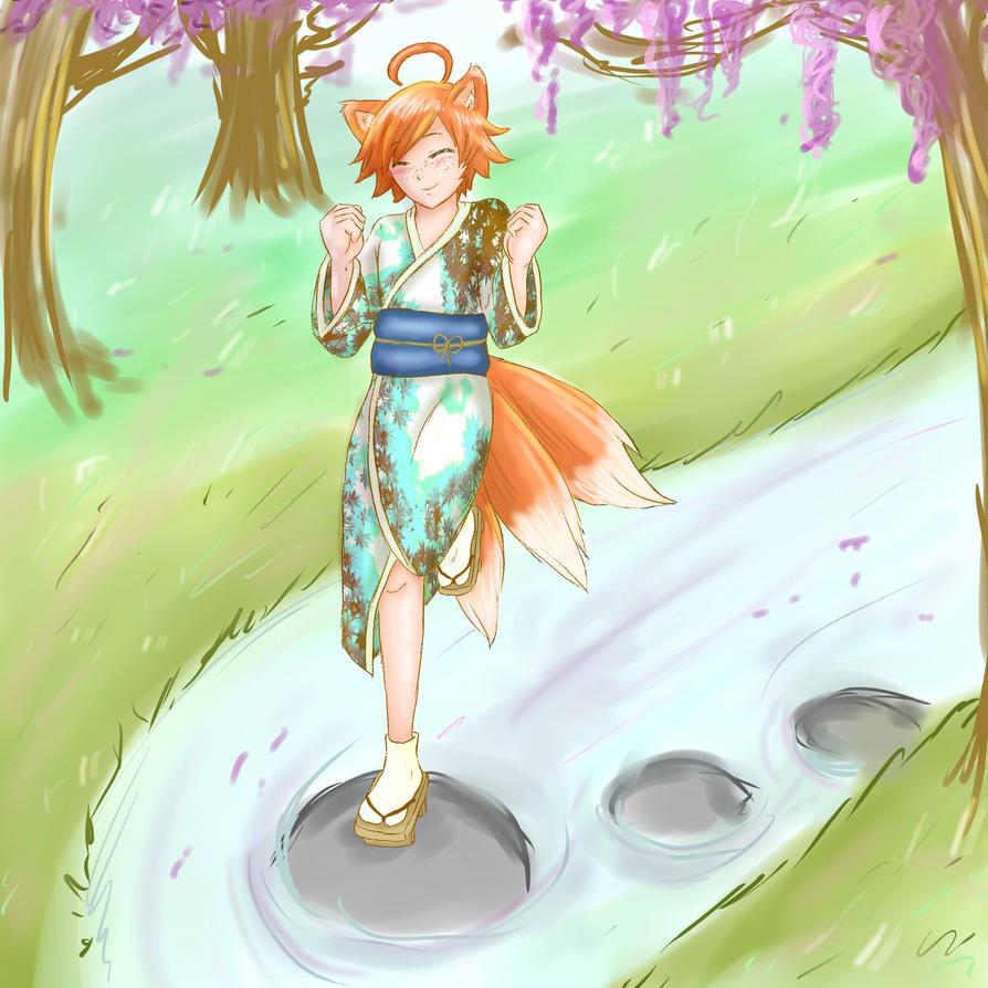 Kitsune Witch by UmiHoshi