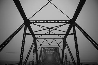 Bridge in the Fog by xssithi