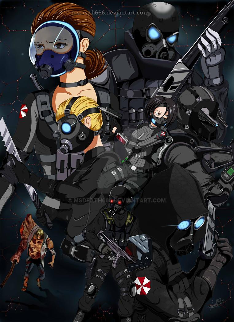 Biohazard Orc by msdeath666