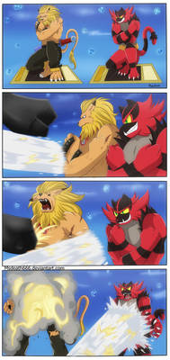 leomon and incineroar