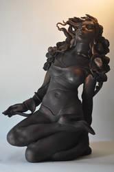 'still here...' by JulieSwanSculpture