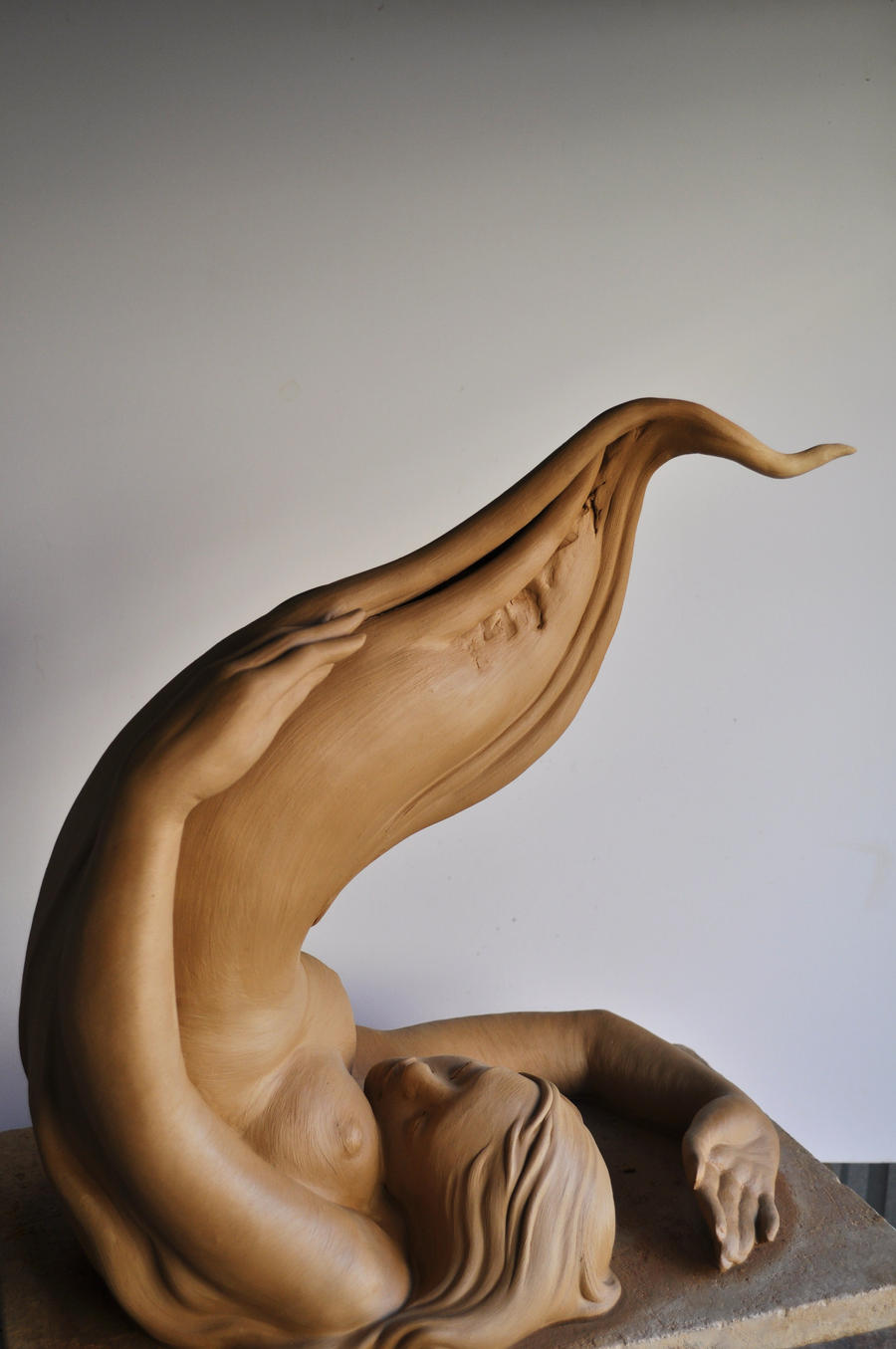 'river to sea'2 by JulieSwanSculpture