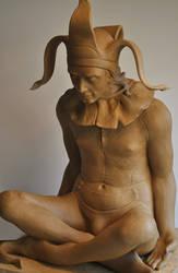 'Fool' 1 by JulieSwanSculpture