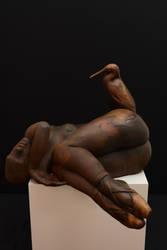 'taken' by JulieSwanSculpture