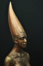 'just being' detail by JulieSwanSculpture