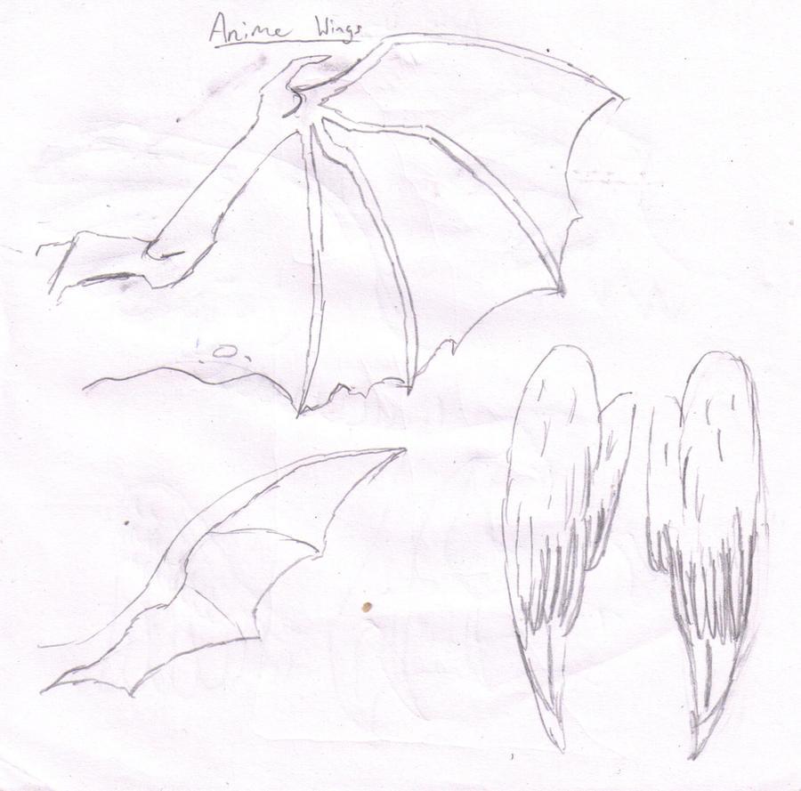 Anime Wings 1 by Blingdude on DeviantArt
