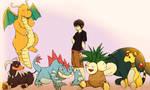 Kuro's Pokemon Team