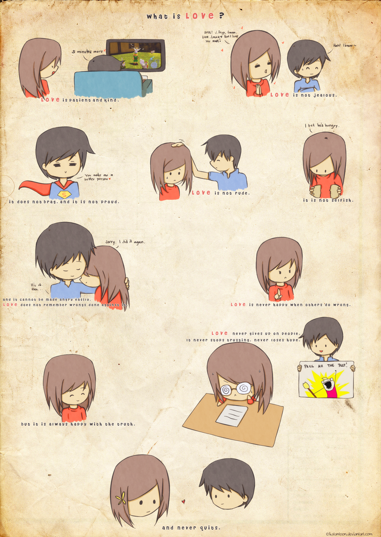 Love is . . . by Katantoon