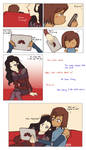 The day Korra and Asami discovered Fanart/Fanfic