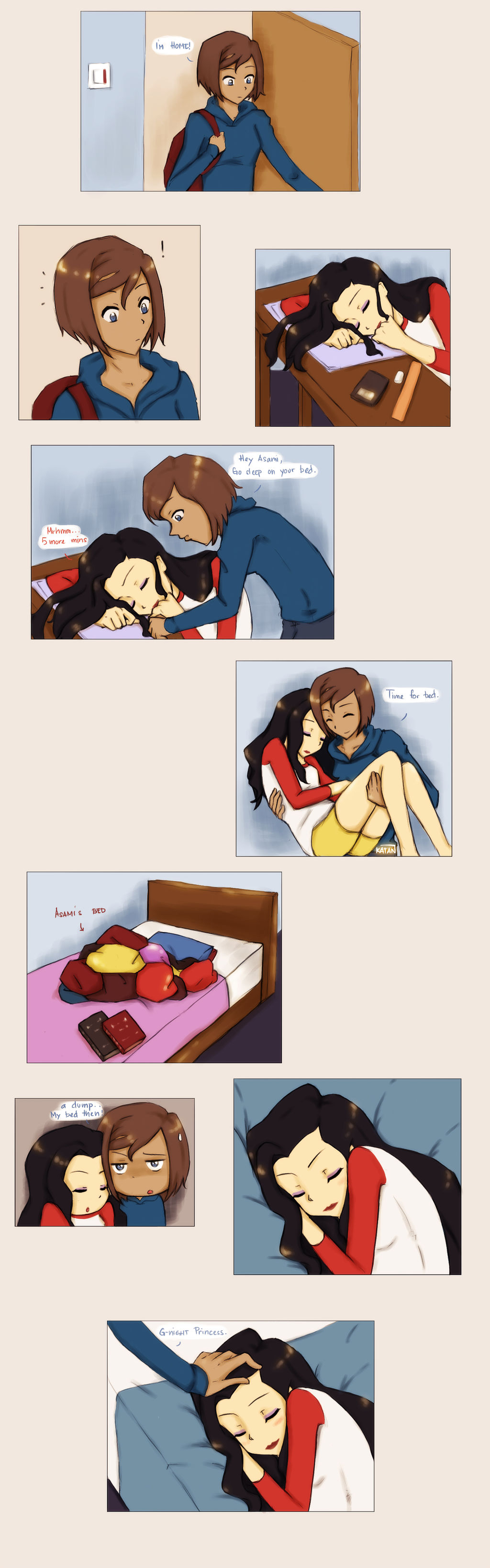 Roommates by Katantoon