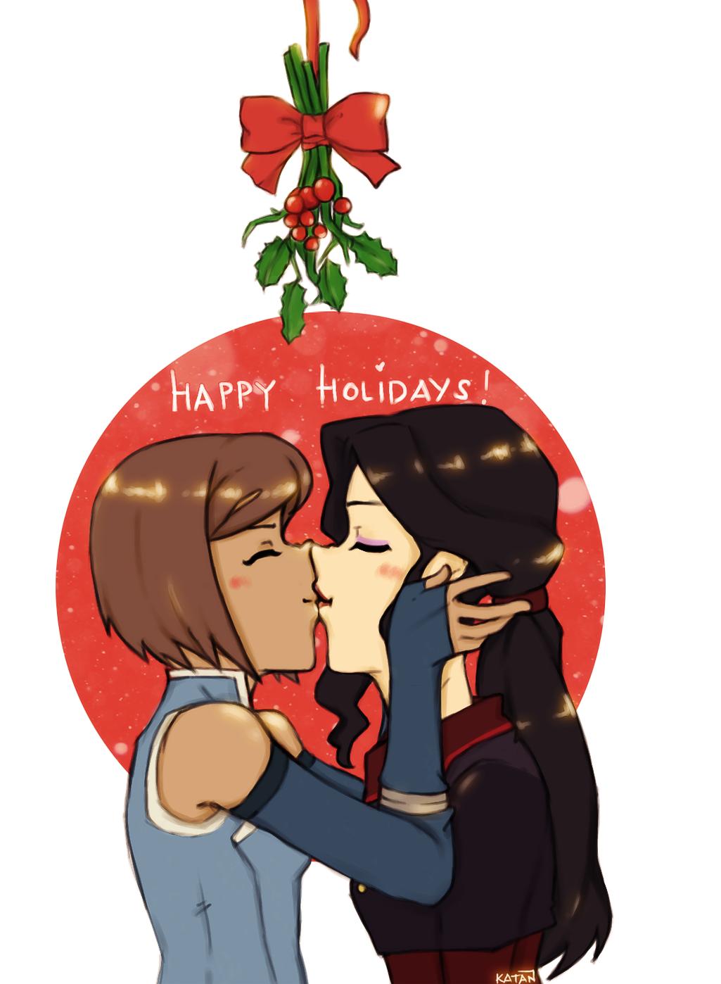 Have a Happy Korrasami Holidays! by Katantoon