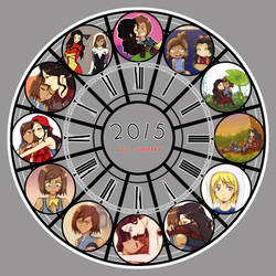 2015 Art Summary! by Katantoon