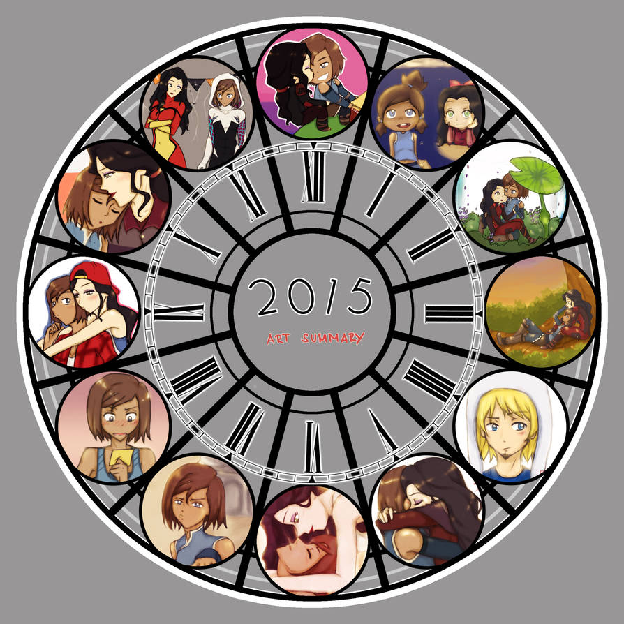 2015 Art Summary! by Katantoon