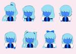 Sapphire's Hair