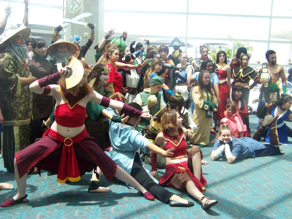 SDCC 2009, Avatar Meetup 22. by Waterbender899