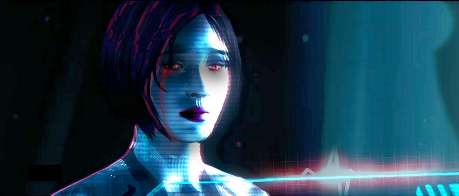 Cortana Rampant by Siphen0