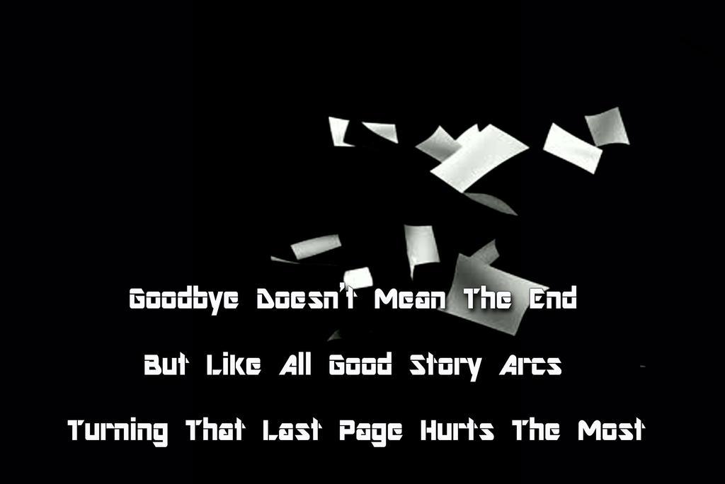 Saying Goodbye by Siphen0