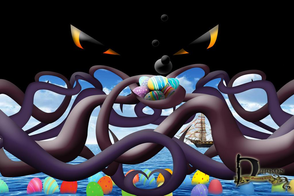 Kraken Adventure Easter by Siphen0