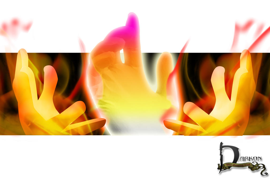 Burning Hands/Prayer Touch by Siphen0