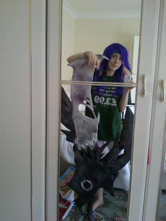 Caius ballad sword and wig test by MizoresAngel