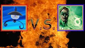 Lampent VS Green Lantern