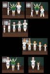Bleach Age Swap Comic-Yachiru and Rangiku