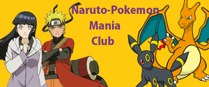 Naruto-PokemonMania Banner by Dracoknight545