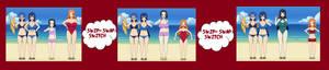 Attribute Swap 04-  Karin and Rangiku