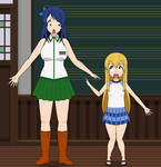 Reversed Fairy Tail- Lucy and Wendy