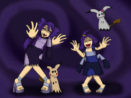 Mara And Acerola, The Ghost Sisters by Dracoknight545