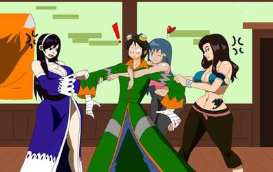 Three way battle for Hiro