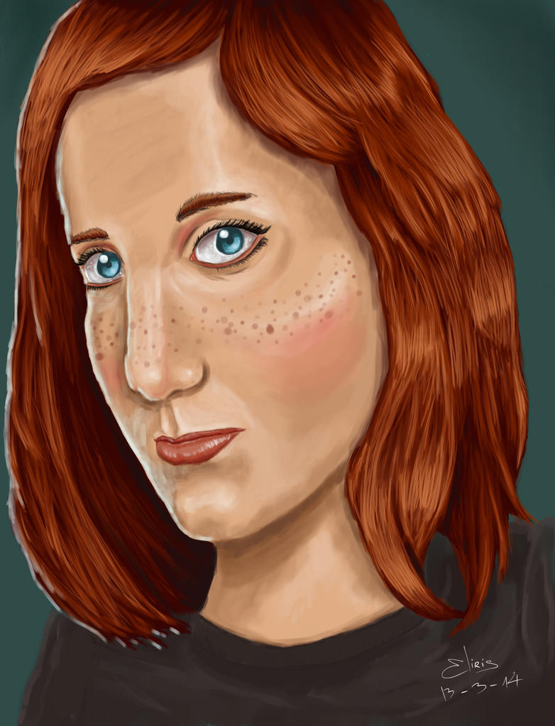 Freckles by eliris2