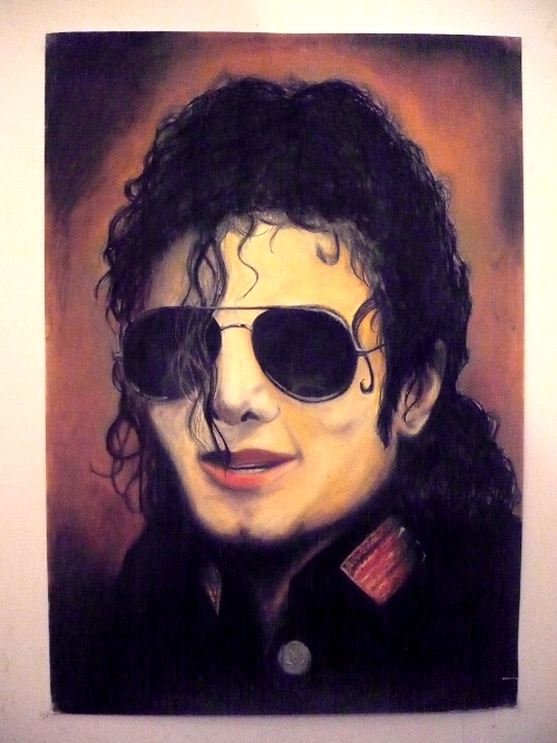 Portrait of Michael by my-beret-is-red