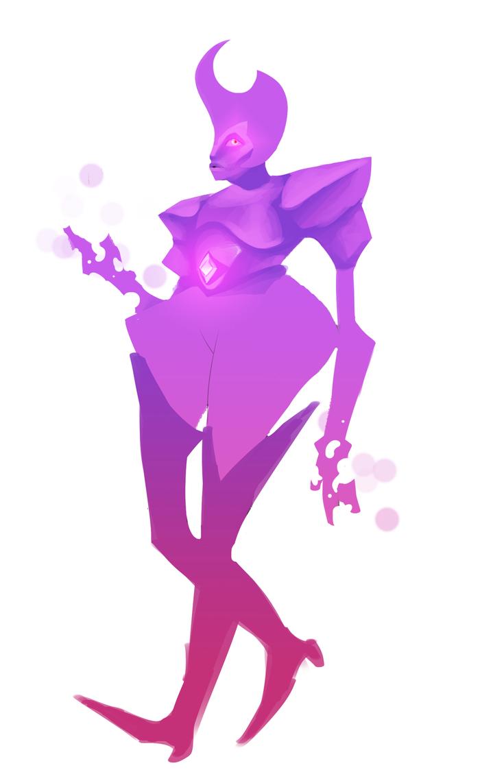 Violet Diamond by eyesacksmith