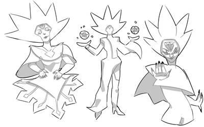 White Diamond Sketches