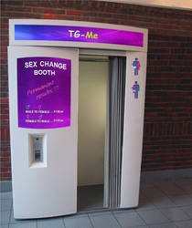 TG Sex Change Booth by CloeyWuLi
