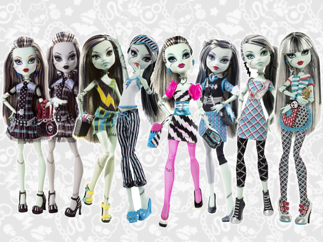 Monster High Frankie dolls by 87KiRi87 on DeviantArt