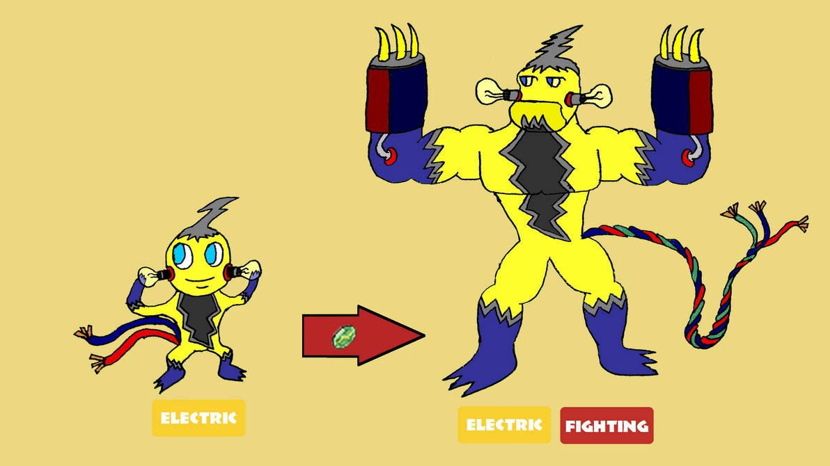 Fighting Electric Mon For Pokemon Sword And Shield By Skrill6557 On