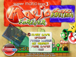 Mario Forever - Title Screen