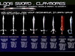 Swords , Chaos Swords items