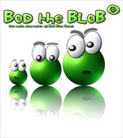 Bod Blob Character by softendo