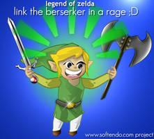 Legend of Zelda - Stupid Link by softendo