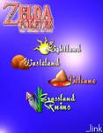 Legend Of Zelda - Worlds