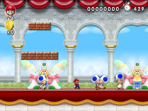 New Super Mario Forever 2012 - Palace chatting