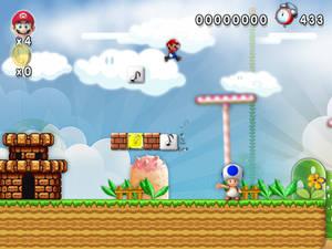 New Super Mario Forever 2012 Softendo