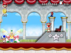 New Super Mario Forever Wii U 2012