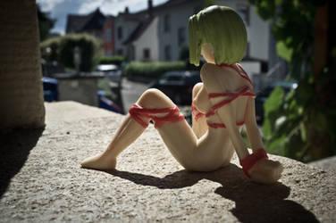 Public Doll Bondage by Prophil